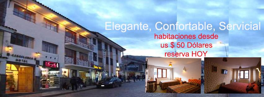 hotel casablanca cusco: